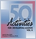 Picture of 50 ACTIVITIES FOR DEVELOPING LEADERS VOLUME 2 (50DL2)