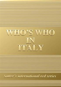 Picture of WHO'S WHO IN ITALY 2008 GOLD EDITION