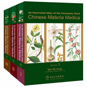 Picture of AN ILLUSTRATED ATLAS OF THE COMMONLY USED CHINESE MATERIA MEDICA: 3 VOLUME SET