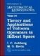 Picture of THEORY AND APPLICATIONS OF VOLTERRA OPERATORS IN HILBERT SPACE (MMONO/24.S)