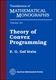 Picture of THEORY OF CONVEX PROGRAMMING (MMONO/36.S)