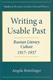 Picture of WRITING A USABLE PAST