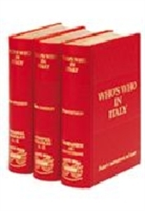 Picture of WHO'S WHO IN ITALY 2009, 3 VOL SET