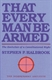 Picture of THAT EVERY MAN BE ARMED: THE EVOLUTION OF A CONSTITUTIONAL RIGHT
