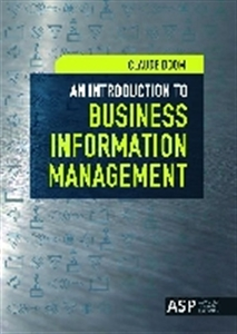 Picture of AN INTRODUCTION TO BUSINESS INFORMATION MANAGEMENT
