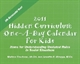 Picture of 2011 HIDDEN CURRICULUM ONE-A-DAY CALENDAR FOR KIDS (9044)