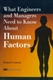 Picture of WHAT ENGINEERS AND MANAGERS NEED TO KNOW ABOUT HUMAN FACTORS (R-331)
