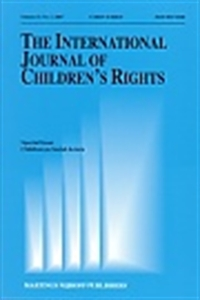 Picture of The International Journal of Children's Rights
