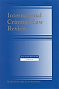 Picture of International Criminal Law Review (Online only)