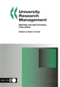 Picture of University Research Management: Meeting the Institutional Challenge