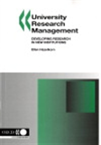 Picture of University Research Management: Developing Research in New Institutions
