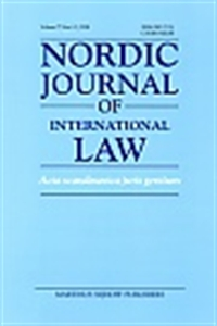 Picture of Nordic Journal of International Law - Print and Online (Package)