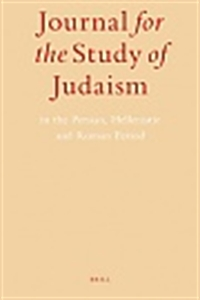Picture of Journal for the Study of Judaism - Print and Online (Package)