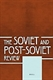 Picture of The Soviet and Post-Soviet Review - Print and Online (Package)