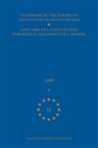Picture of Yearbook of the European Convention on Human Rights/Annuaire de la convention europeenne des droits de l'homme, Volume 52 (2009)