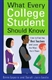 Picture of WHAT EVERY COLLEGE STUDENT SHOULD KNOW-HOW TO FIND THE BEST TEACHERS AND LEARN THE MOST FROM THEM