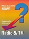 Picture of WHAT CAN I DO NOW: RADIO & TELEVISION