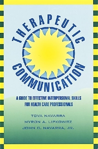 Picture of THERAPEUTIC COMMUNICATION-A GUIDE TO EFFECTIVE INTERPERSONAL SKILLS FOR HEALTH CARE PROFESSIONALS