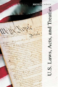 Picture of U.S. LAWS ACTS AND TREATIES (3 VOL SET)