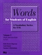Picture of WORDS FOR STUDENTS OF ENGLISH-A VOCABULARY SERIES FOR ESL VOL 5