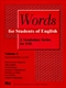 Picture of WORDS FOR STUDENTS OF ENGLISH-A VOCABULARY SERIES FOR ESL VOL 4