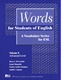 Picture of WORDS FOR STUDENTS OF ENGLISH-A VOCABULARY SERIES FOR ESL, VOLUME 8