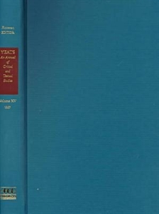 Picture of YEATS-AN ANNUAL OF CRITICAL AND TEXTUAL STUDIES V. 15