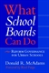 Picture of WHAT SCHOOL BOARDS CAN DO-REFORM GOVERNANCE FOR URBAN SCHOOLS