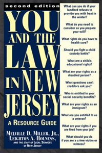 Picture of YOU AND THE LAW IN NEW JERSEY-A RESOURCE GUIDE 2ND ED