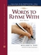 Picture of WORDS TO RHYME WITH: A RHYMING DICTIONARY (3RD EDITION)