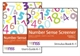 Picture of NUMBER SENSE SCREENER (NSS) K-1, RESEARCH EDITION (PACK OF 25 SHEETS)