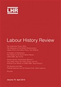 Picture of Labour History Review - Print and Online
