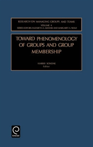 Picture of Toward Phenomenology of Groups and Group Membership