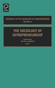 Picture of The Sociology of Entrepreneurship