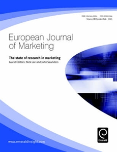 Picture of The State of Research in Marketing (European Journal of Marketing Volume 39 Issue 3/4)