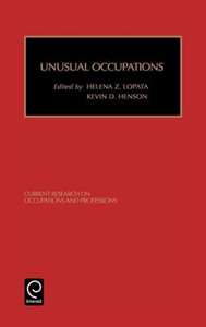 Picture of Unusual Occupations and Unusually Organized Occupations