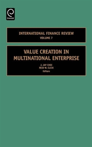Picture of Value Creation in Multinational Enterprise