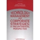 Picture of Technology Management and Corporate Strategies