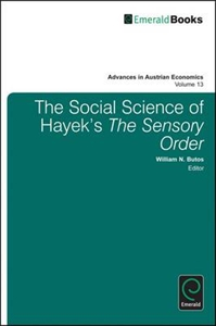 Picture of The Social Science of Hayek's 'The Sensory Order'