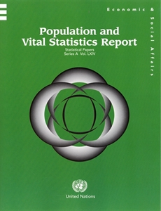 Picture of Population and Vital Statistics Report