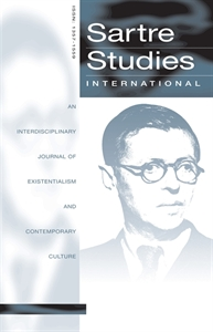 Picture of Sartre Studies International: An Interdisciplinary Journal of Existentialism and Contemporary Culture - Online