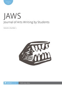 Picture of JAWS: Journal of Arts Writing by Students (JAWS) - Print and Online