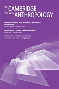 Picture of The Cambridge Journal of Anthropology - Online