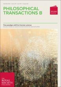 Picture of Philosophical Transactions B 1674: The paradigm shift for forensic science