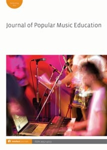 Picture of Journal of Popular Music Education (JPME) - Online