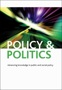 Picture of Policy & Politics - Print