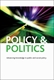 Picture of Policy & Politics - Print and Online