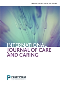 Picture of International Journal of Care and Caring - Print