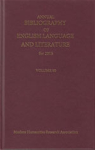 Picture of Annual Bibliography of English Language and Literature