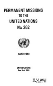 Picture of Permanent Missions to the UN Package - Print and Online